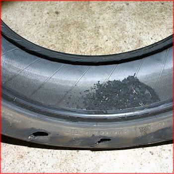 Dæk ødelagt - køb et nyt hos JAU2 i Maribo