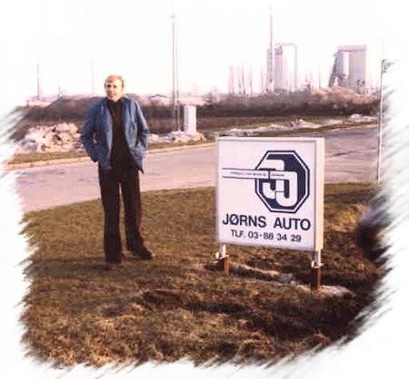 Ham Jørns Auto i 1979