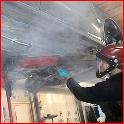 Undervognsbehandling i Maribo hos JAU2